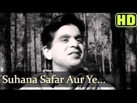 Suhana Safar Aur Ye Mausam Haseen from Madumathi (видео)