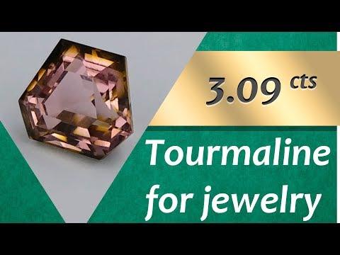 Tourmaline Jewelry: Design Unique Jewelry with Tourmaline 3.09 Carat