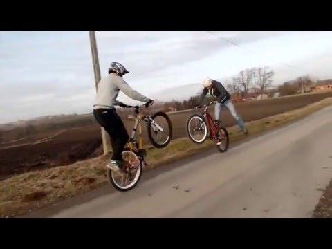Riding with Karol Widyk