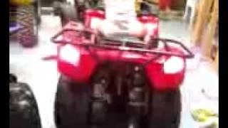 3. kymco  150cc  with the yamaha raptor 350cc