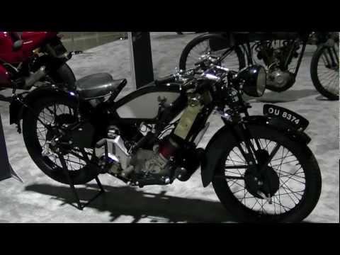 1930 Scott Flying Squirrel Motorcycle