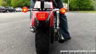 6. Used 2012 Harley-Davidson XL1200C Sportster 1200 Custom with Vance & Hines Exhaust