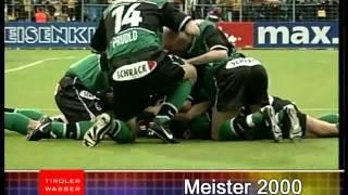 FC Wacker Innsbrucks Meistertitel (1971, 1973, 1975, 2000, 2001, 2002)
