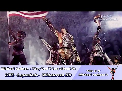 Video Michael Jackson - They Don't Care About Us LIVE - Legendado - Widescreen HD download in MP3, 3GP, MP4, WEBM, AVI, FLV January 2017