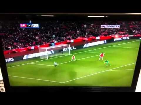 Arsenal Vs Fulham 4-12-210 full highlight in HD