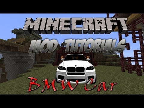 Minecraft 1.4.7 – How To Install The BMW Car Mod