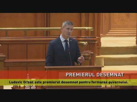 Ludovic Orban, premierul desemnat pentru formarea noului guvern
