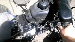 9. Trx 90 carb issues