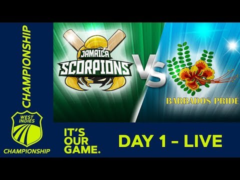 Jamaica v Barbados | West Indies Championship - Day 1 | Thursday 7th March 2019 - Thời lượng: 7 giờ.