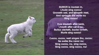 The Cuckoo Song This jolly 13th-century poem is made all the better for not having its old spellings translated into modern English...