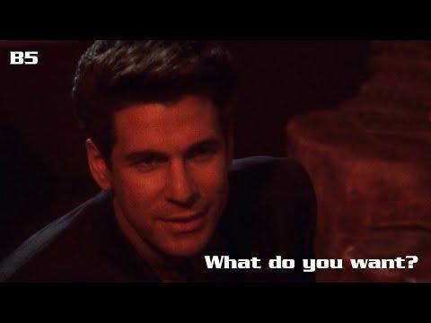 """Babylon 5 Remastered - Morden asks G'Kar """"What do you want?"""""""
