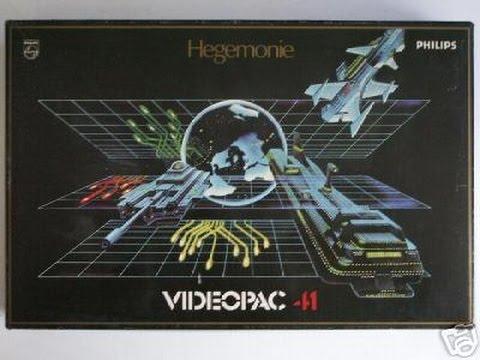 Nr. 41: Eroberung der Welt   Philips Spielekonsolen   G7000 / G7400 / Videopac / Videopac+