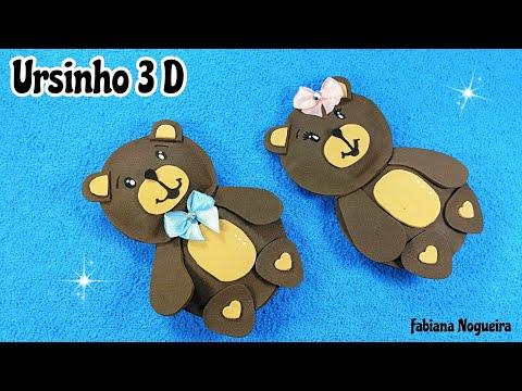 Ursinhos em 3D