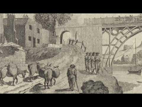 The Story of the Iron Bridge – Building the Bridge