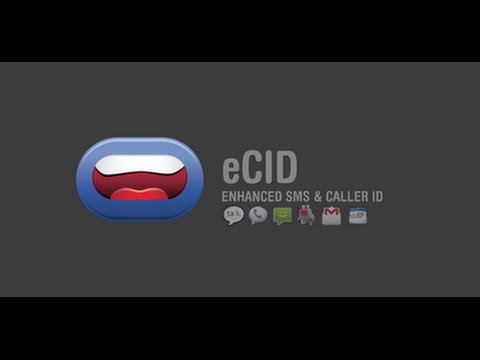 Video of Enhanced SMS & Caller ID+