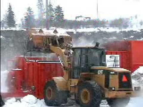 Snow Removal - A demonstration video of our snow melting machines. Melt the snow instead of hauling it off to snow dump sites.