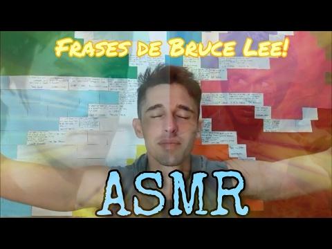 ASMR em português: Soft Spoken - Frases de reflexão (Bruce Lee)