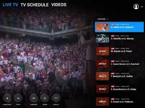 Video of Eurosport Player