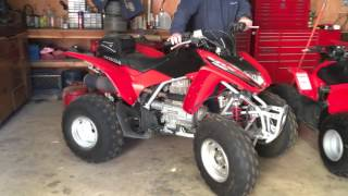 8. 2007 Honda TRX250EX ATV - Cold Start