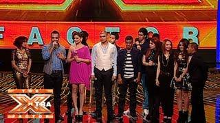 وداع المتسابقين لفرقة مرايا وكلمات الحكام لهم - الحلقة الرابعة - The XTRA Factor 2013