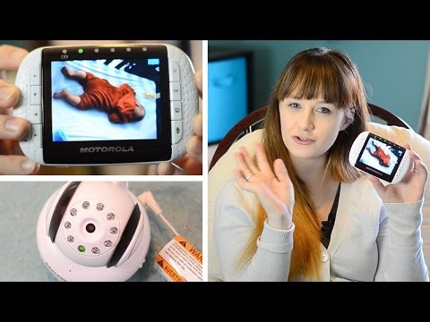 HIGH TECH BABY MONITOR! - Motorola MBP36 Review