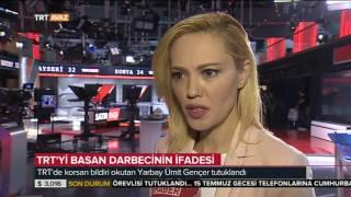 TRT'yi Basan Darbecinin İfadesi ve Tijen Karaş'ın Açıklamaları - TRT Avaz