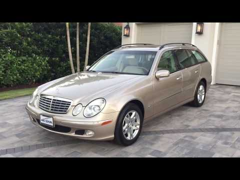 2004 Mercedes Benz E320 Estate Wagon Review and Test Drive by Bill - Auto Europa Naples
