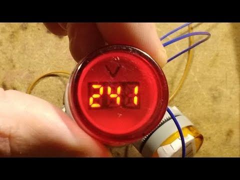 Inside a 22mm digital panel indicator/voltmeter.