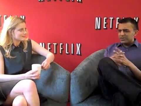 Murtz - Murtz Jaffer interviews Community's Gillian Jacobs on Tuesday, September 4, 2012 at the Hazelton Hotel as part of Netflix Canada's announcement that all thre...
