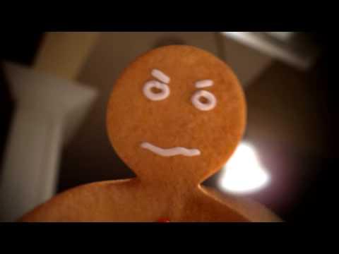 Gingerbread Man Christmas Wish