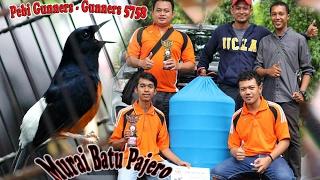 SUARA BURUNG : Murai Batu Pajero Taklukan Jawara Nasional, Tampil Ganas Raih Juara Double Winner