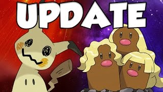 POKEMON SUN AND MOON UPDATE by Verlisify