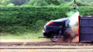 Extreme 120Mph Car Crash Test
