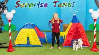 ASSISTANT SURPRISE Tent Paw Patrol + PJ Masks with Wiggles Toy...