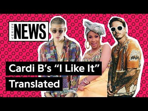 "Video Spanish Verses On Cardi B's ""I Like It"" Translated | Genius News download in MP3, 3GP, MP4, WEBM, AVI, FLV January 2017"