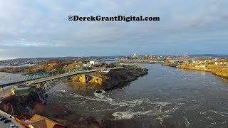 Saint John (NB) Canada  City pictures : Saint John, New Brunswick, Canada Aerial Drone Video