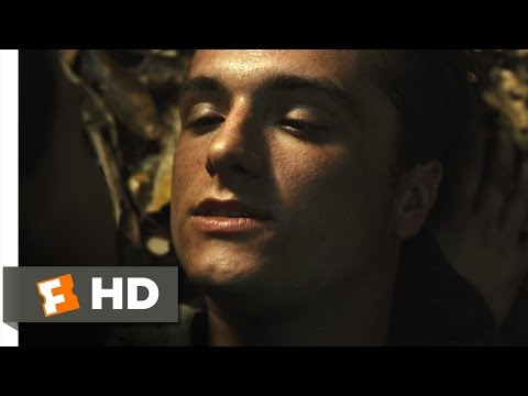 The Hunger Games: Catching Fire (8/12) Movie CLIP - Peeta Hits the Forcefield (2013) HD
