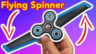 1000MPH FIDGET SPINNER (FLYING TRICK!)