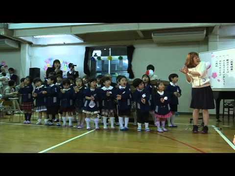 田上幼稚園 平成27年度 入園式2