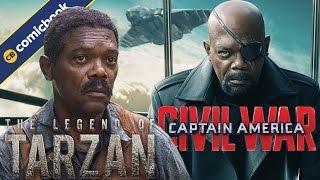 Samuel L. Jackson Tried To Be In 'Civil War,' Talks 'Tarzan' by Comicbook.com