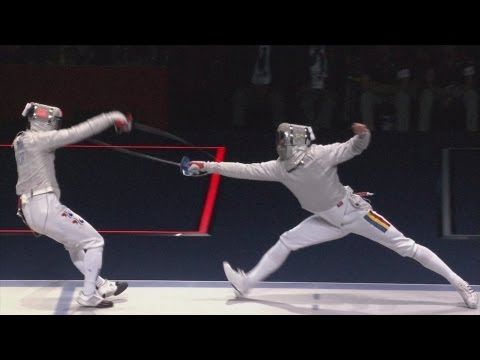 fencing - Full replay from the ExCeL - South Arena 1 as Korea defeat Romania to win the men'd fencing team sabre event at the London 2012 Olympic Games (3 August 2012)...