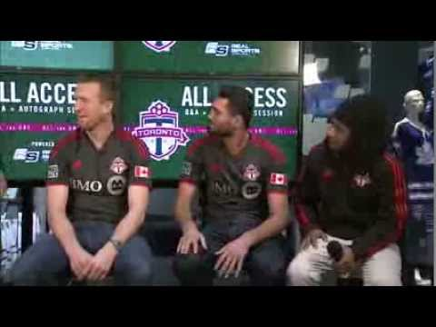 Video: TFC All Access - Steven Caldwell & Gilberto Talk Childhood Teams