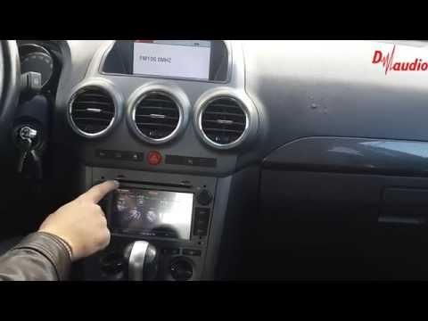 Штатное головное устройство Opel Zafira (2006-2010) Antara (2009-2011) Astra