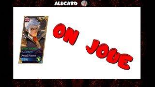 Petite vidéo dans laquelle je joue Aluard après avoir observé le 5ème Alucard mondial. Vous pouvez désormais me suivre...