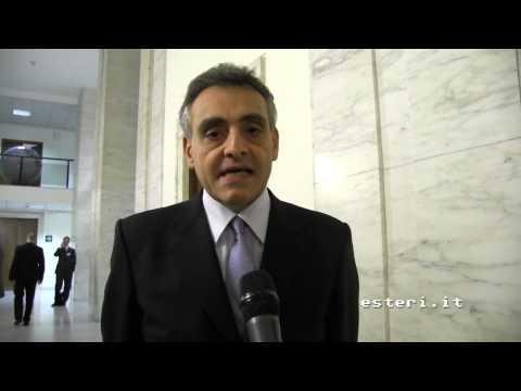 X Conferenza degli Ambasciatori – Intervista Ambasciatore a Tripoli, Giuseppe Buccino Grimaldi