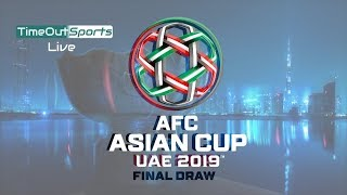 Video REVEALED ! AFC Asian Cup 2019 Final Draw - Groups Revealed ! MP3, 3GP, MP4, WEBM, AVI, FLV Desember 2018