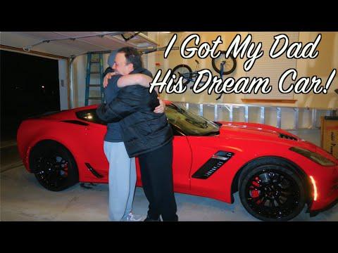 Dad Gets A Corvette Z06 Birthday Surprise