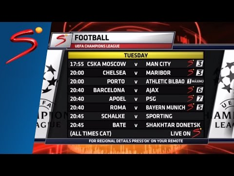 UEFA Champions League - Matchday 3