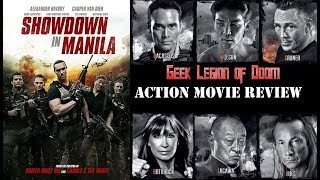 Nonton SHOWDOWN IN MANILA ( 2016 Mark Dacascos ) B-Actors Expendables Style Action Movie Review Film Subtitle Indonesia Streaming Movie Download