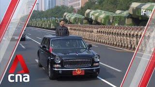 Parada wojskowa w Chinach z okazji 70 lat ChRL